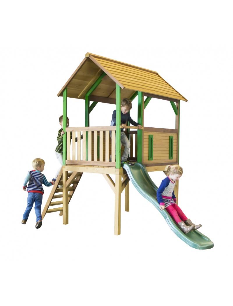 cabane enfant cabane axi bogo en bois. Black Bedroom Furniture Sets. Home Design Ideas