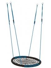Balançoire Nid Oval Bleu