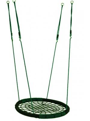 Balançoire Nid Oval Vert