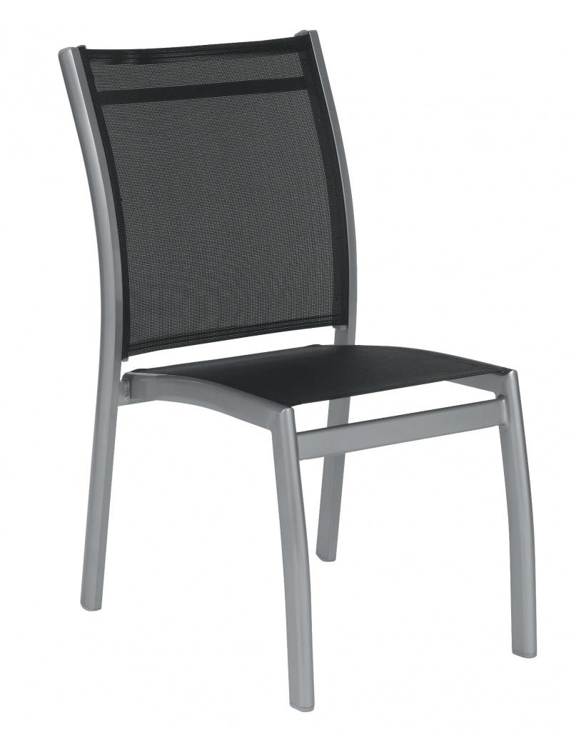 chaise aluminium textil ne pary chaises fauteuils alu textil ne jardin concept. Black Bedroom Furniture Sets. Home Design Ideas