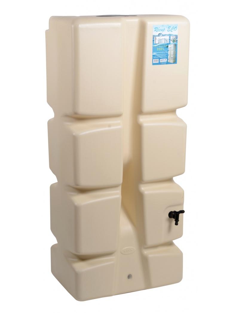 r cup rateur d 39 eau r cup 39 eco 310l eda plastiques r cup rateur d 39 eau de pluie jardin concept. Black Bedroom Furniture Sets. Home Design Ideas