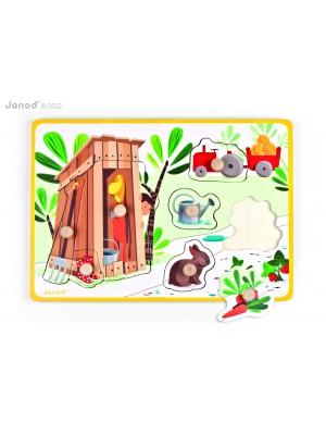 Puzzle La Cabane du Jardin