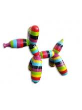 Chien Ballon Taille XL Multicolore