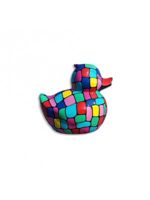 Canard taille S Arlequin