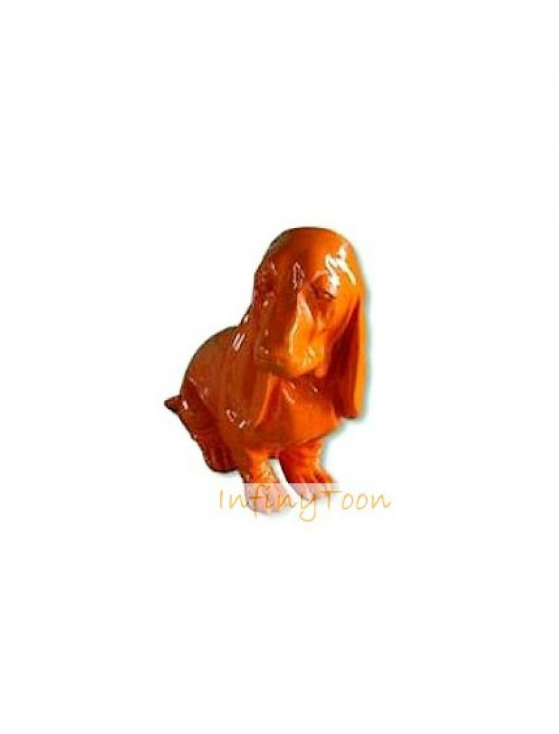 cocker orange infinytoon objets d co statues jardin. Black Bedroom Furniture Sets. Home Design Ideas