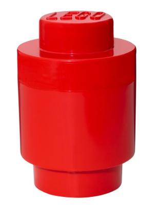 Brique de rangement ronde 1 plot - Rouge
