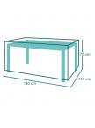 Housse de protection pour Table de jardin 180 ou 240 cmx110x70