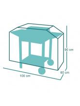 Housse de protection pour plancha avec chariot 100 ou 120