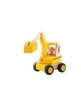 Excavatrice de chantier
