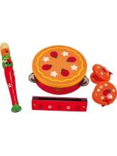 Set de 4 instruments coccinelle