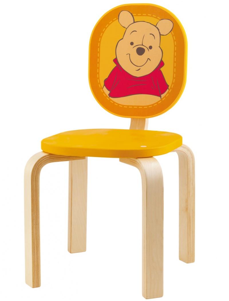 chaise winnie l 39 ourson sevi mobilier chambre d 39 enfant jardin concept. Black Bedroom Furniture Sets. Home Design Ideas
