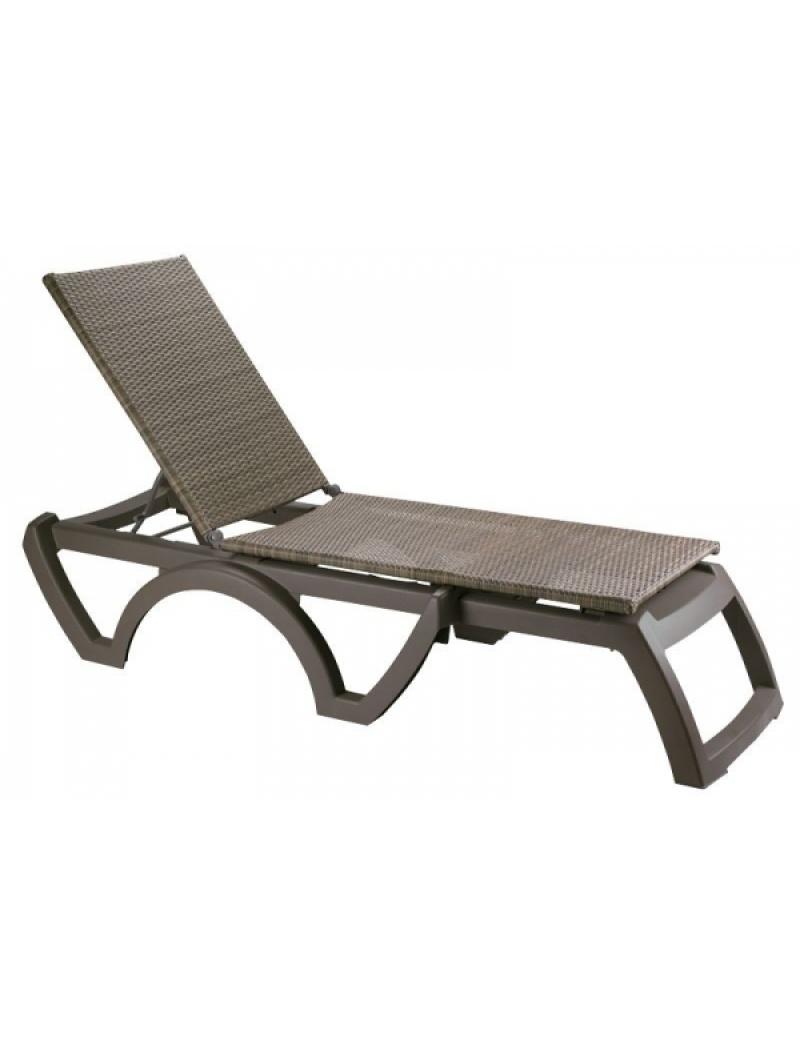 bain de soleil java wicker moka grosfillex transat de piscine jardin concept. Black Bedroom Furniture Sets. Home Design Ideas