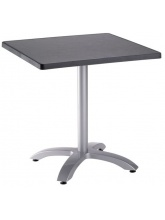 Table Ecofix 70x70cm Anthracite