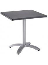 Table Ecofix 70x70cm Anthracite