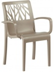 Fauteuil Vegetal Taupe