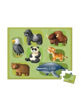Lovely puzzle Animaux en danger 36 pcs