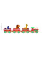 Baby Train Circus Story