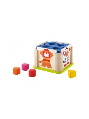 Cube emboîtement Animaux