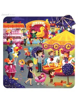 Multi puzzle fête foraine