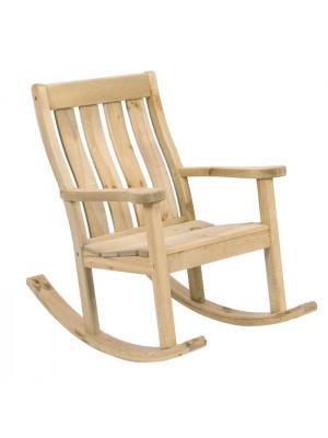 Rocking Chair en Pin