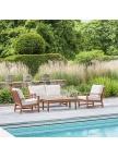 Salon de jardin bas Lounge en Cornis