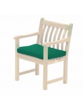 Coussins Acrylique pour fauteuil Alexander Rose vert