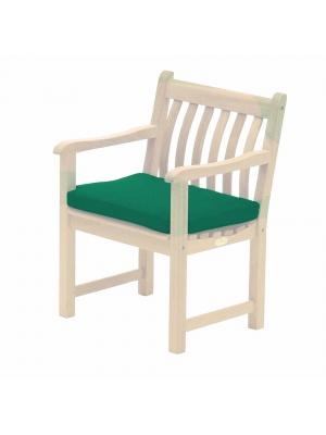 Coussins pour fauteuil Alexander Rose vert