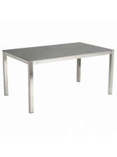 Table Cologne en Inox Gris anthracite