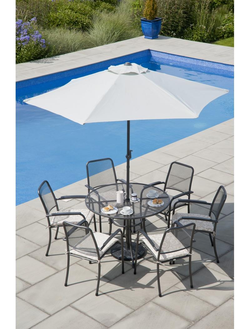 Table ronde Portofino 105 cm