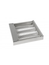 Grill BBQ inox 400 pour plancha Collet