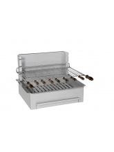 Barbecue charbon de bois 500 inox standard