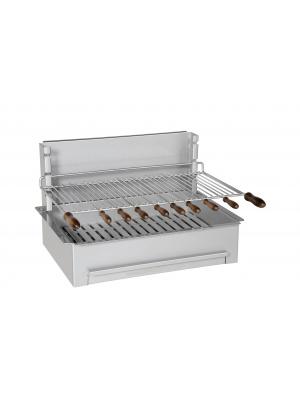 Barbecue charbon de bois 600 inox standard