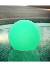 Boule lumineuse flottante