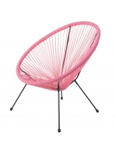 Fauteuil Acapulco corail