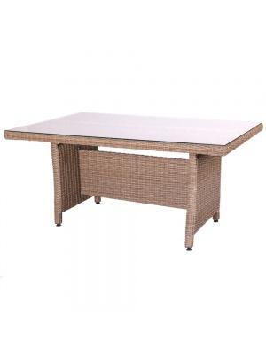 Table de jardin Patsy beige naturel