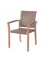 Lot de 4 fauteuils Frida empilables