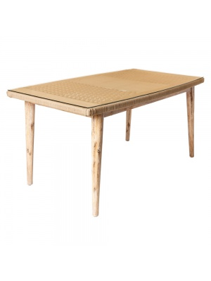 Table de jardin Nirit