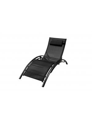 Bain de soleil Lynco textilène Noir