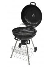 Barbecue à charbon de bois avec couvercle