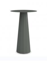 Table mange-debout Ankara gris bleu