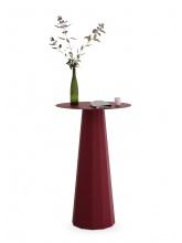 Table mange-debout Ankara rouge pourpre