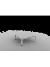 Table basse carrée Hégoa grise