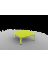 Table basse carrée Hégoa vert anis