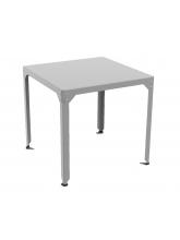 Table repas carrée Hégoa grise
