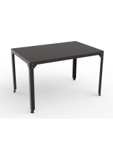 Table repas rectangle Hégoa anthracite