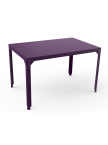 Table repas rectangle Hégoa violet