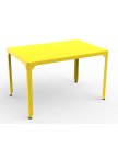 Table repas rectangle Hégoa jaune