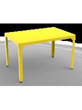 Table repas rectangle Hégoa jaune
