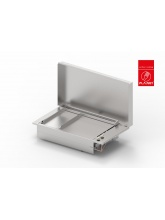 Plancha OASI 80-MIX inox lisse encastrable