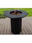 Barbecue BQI Octogonal Charbon de bois